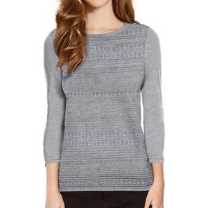 NWT Slate Gray Buffalo Pontelle Scoop neck sweater